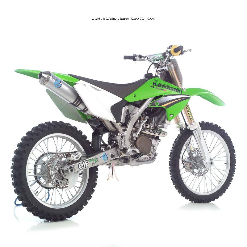 echappement moto cross kawasaki kx f 250. Black Bedroom Furniture Sets. Home Design Ideas
