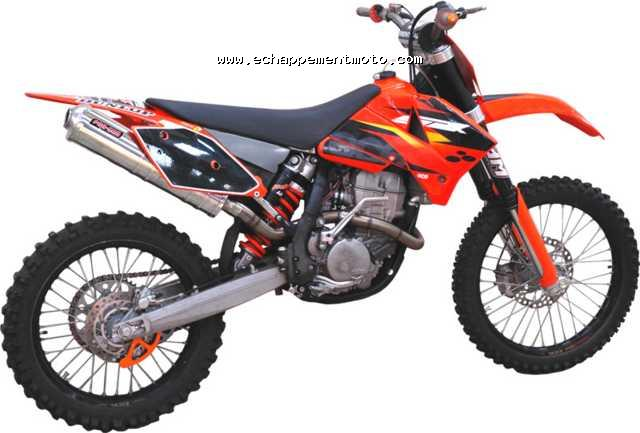 echappement moto cross ktm 250 sxf. Black Bedroom Furniture Sets. Home Design Ideas